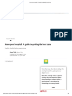 Know Your Hospital_ a Guide to Getting the Best Care