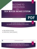 Sea Water Intake