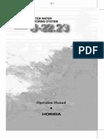 Horiba U 22 Manual