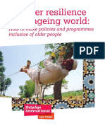 Disaster Resilience Ageing World