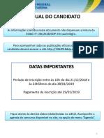 Manual Candidato Edital 1362018DDP TAE