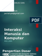 01-Pengenalan, Kontrak Belajar Serta Pengenalan Interaksi Manusia Dan Komputer