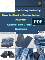 Jeans Manufacturing Industry