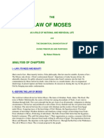 Law of Moses - Text