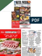"Kuta Weekly - Edition 616 ""Bali's Premier Weekly Newspaper"""