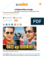 Bhojpuri Movies Beat Bollywood Films on Google - Livemint