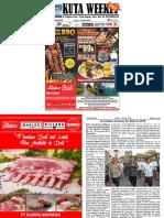 "Kuta Weekly - Edition 619 ""Bali's Premier Weekly Newspaper"""