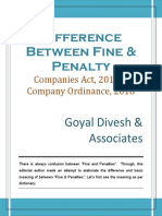 402. Difference Between Fine & Penalty