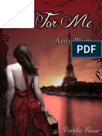 1. Die for Me - Amy Plum