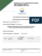 Energization_Procedure-11-0.415kV Dist. Ring1 (SB 0054 & SB 0052)