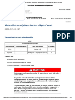 Motor Eléctrico - Quitar e Instalar - HydraCrowd
