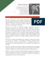 Gabriel Salcedo CV 2018