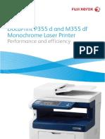 Product Brochure DocuPrint P355 M355