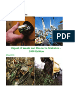 Digest of Waste and Resource Statistics 2018