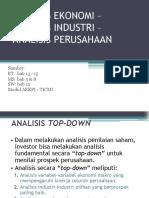 analisa ekonomi 1