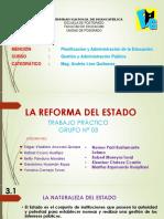 La Reforma Del Estado