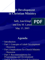 Adult Development in Christian Ministry