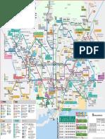 Mapa Metro Barcelona 2018 09