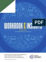 Digital Marketing University - Workbook Actionable Insights 2018-19