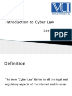 6-1 Introduction to Cyber Law.pptx