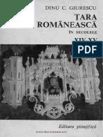 Ţara Românească, sec. XIV-XV - D. Giurescu.pdf