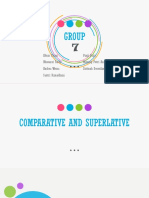 Comparative and Superltive_group7