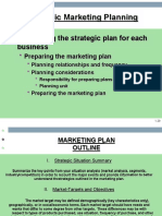 Strategic Marketing Plaaning