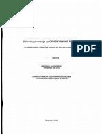 Uslovi Ugovaranja Za Gradjevinske Radove_deo II