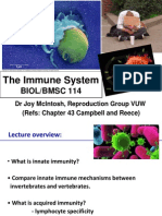 2010 Joy's 114 Lecture 4 the Immune System
