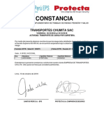 Constancia 8