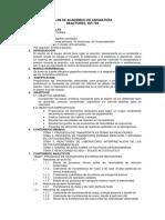 Plan de Academico de Asignatura Igp-704 Reactores