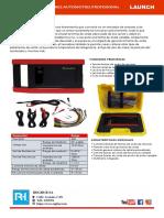 Launch Sensor Box