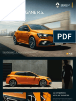 Catalogo Megane Rs 2018