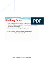 Packing Factor