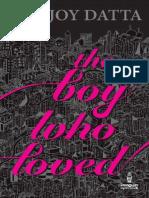 the Boy Who Loved - Durjoy Datta