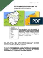 12b-Météorologie Et Paysage Dans 'Une Vie' de Maupassant - Dossier