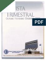 Revista Trimestral - Diciembre 2001