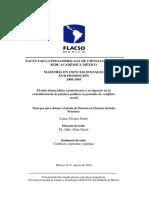 Álvarez L. - El Mito Democrático Costarricense y Su Impacto en La Constitución de La Práctica Política en Períodos de Conflicto Social
