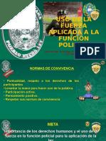 Uso de La Fuerza _funcion Policial