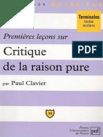 [Clavier_Paul]_Premieres_lecons_sur_Critique_de_la(b-ok.cc).pdf
