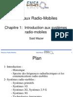 GSM Chapitre I