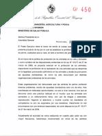 Proyecto de ley Poder Ejecutivo - Presidencia