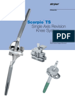 018 Scorpio TS Single Axis Revision Knee System Surgical Protocol