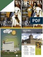 Historia y vida, Luis XIV