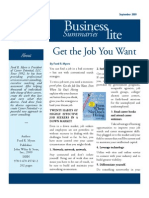 Biz Lite Get the Job You Want PDF