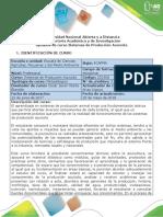 Syllabus Del Curso Sistemas de Producción Acuícola (Piscicultura)
