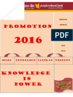 Multiple Choice Questions_2016 Promotion