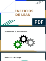 Beneficios de Lean Eduardo Atri