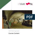 NATM Course Content