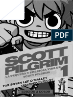 Comic Scott Pilgrim -La Pequeña y Preciosa Vida